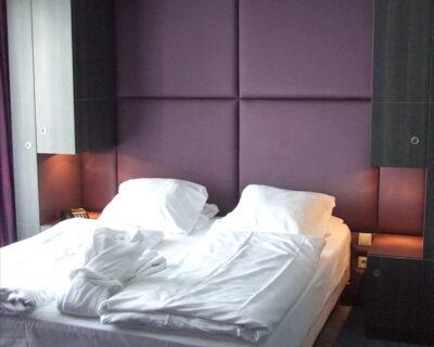 Agencement de chambres d'hôtel