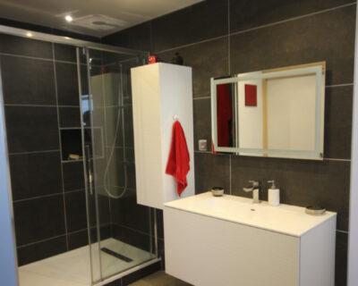 Conception d'une salle d'eau avec séparation des sanitaires