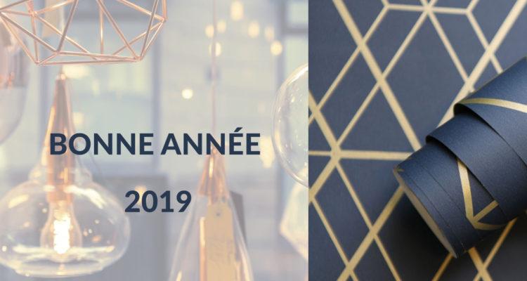 je vous souhaite une belle et heureuse année 2019