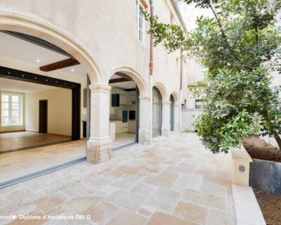 Rénovation d'un ancien cloître en appartement