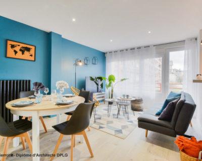 Optimisation et aménagement décoratif d'un appartement à Nancy pour une colocation
